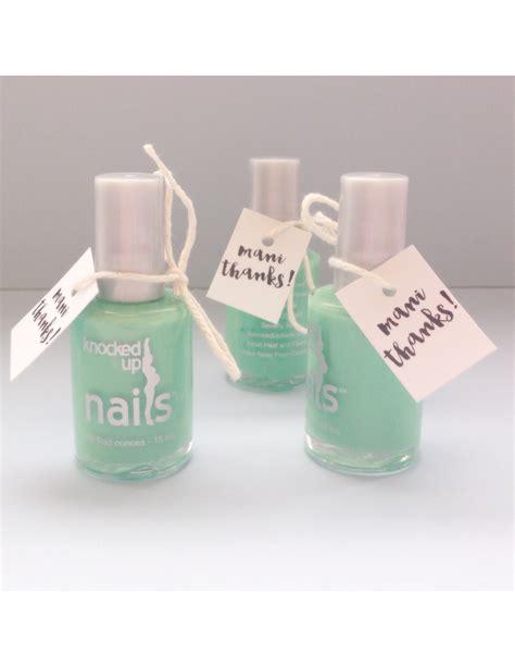 Giveaways For Baby Shower - knocked up nails baby shower favors knocked up nails