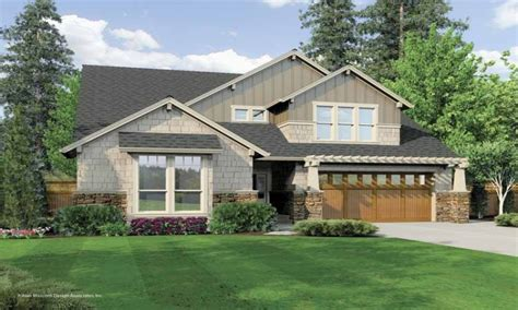 one story craftsman style homes 2 story craftsman house
