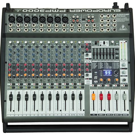 Mixer Behringer 12 Channel Bekas behringer europower pmp3000 12 channel powered mixer music123