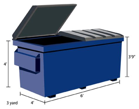 dumpsters of america dumpster types sizes