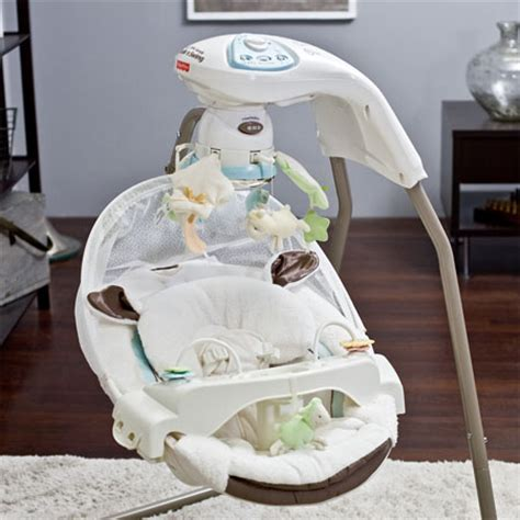 little lambs swing little lamb cradle baby swing offers comfort with style to