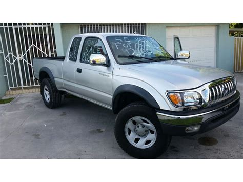 Toyota Tacomas For Sale Used 2004 Toyota Tacoma For Sale By Owner In Miami Fl 33191