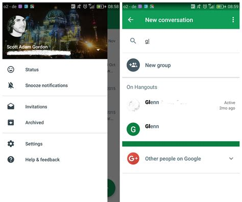 hangouts update apk hangouts v16 update removes contacts button improves search