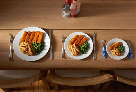 cuisine v馮an a surprising discovery about fast food portion sizes