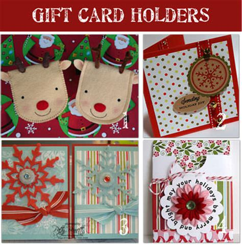 Handmade Christmas Gift Cards - how to make gift cards holders homemade gifts tip junkie