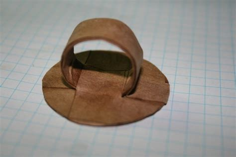 How To Make A Ring Out Of Paper - paper m 226 ch 233 ring 183 how to make a paper ring 183 jewelry