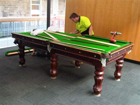 sydney billiard pool table movers photo gallery