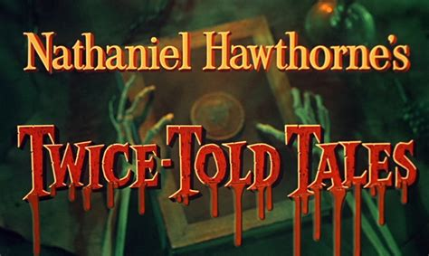nathaniel hawthorne biography dvd twice told tales blu ray vincent price