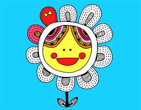 fiori patchwork disegno fiore patchwork colorato da utente non registrato
