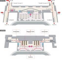 Changi Airport Floor Plan Jal International Flights Singapore Changi