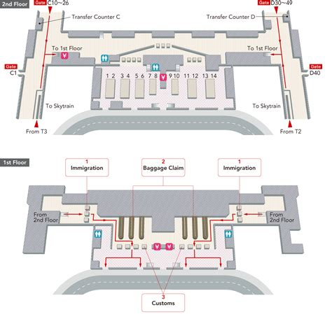 Stairs Floor Plan singapore changi international airport arrivals and
