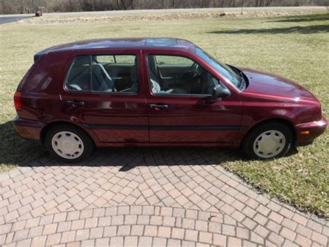 old car owners manuals 1994 volkswagen golf windshield wipe control 1994 volkswagen golf gl very low miles for sale volkswagen golf 1994 for sale in grand blanc