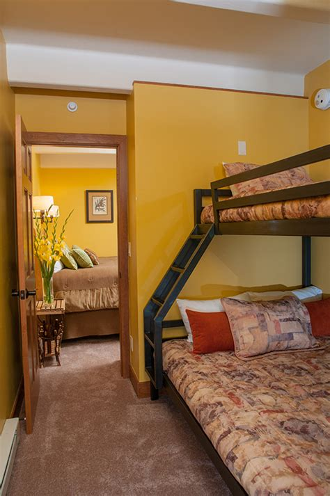 vail bed vail condo rental one bedroom with bunks family vacations