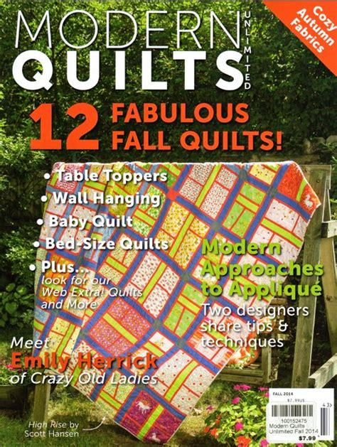 Quilts Unlimited by Modern Quilts Unlimited Magazine Fall 2014