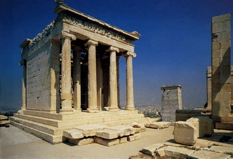 temple of athena nike acropolis athens greece iktinos and kallikrates c 447 424 b c e