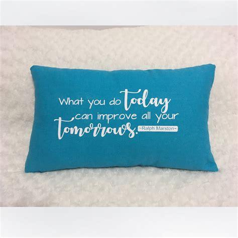 quote pillow customizable artland ca