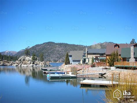 big bear house rentals big bear lake rentals in a house for your vacations with iha