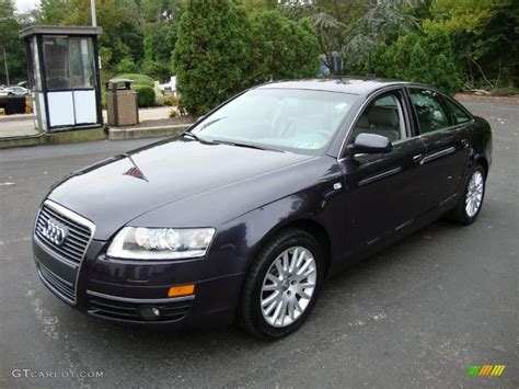 Audi A6 3 2 by 2007 Daytona Grey Pearl Audi A6 3 2 Quattro Sedan