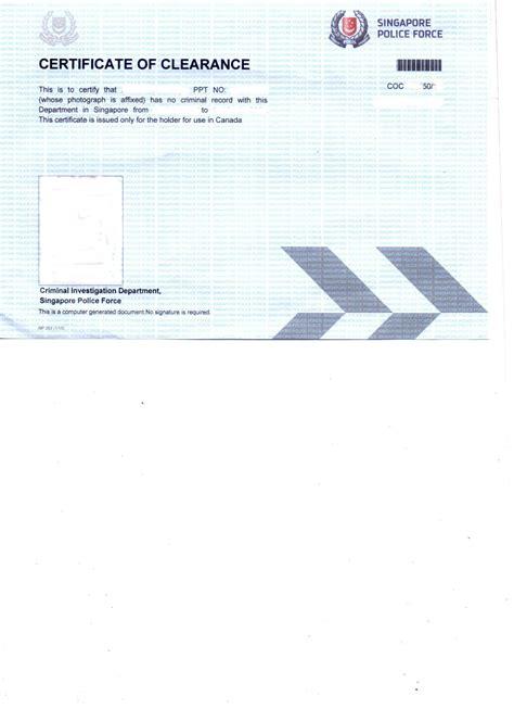 Criminal Record Singapore Check Clearance Certificate Coc Singapore Delhi Mumbai Ahmedabad Hyderabad