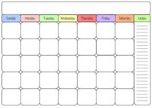 calendar template 2016 blank calendar 2016 weekly calendar template