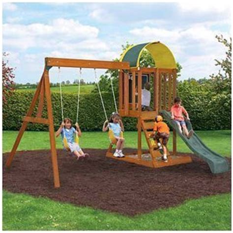 good quality swing sets best wooden swing sets reviews they ll have the time of