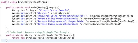 String How To - how to a string in java crunchify