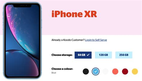 koodo promo apple iphone xr for 350 upfront on tab medium save 300 iphone in canada
