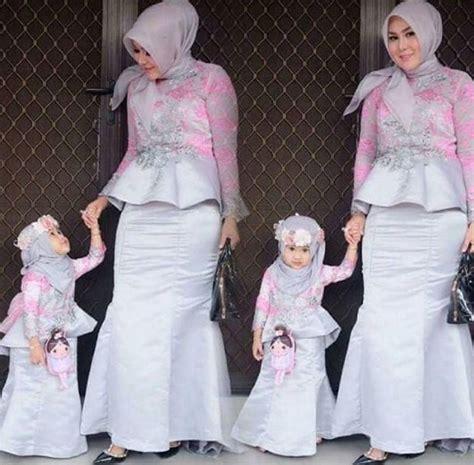Gaun Tutu Ibu Anak 35 model gaun pesta muslim modern elegan terbaru 2018 fashion muslim modern