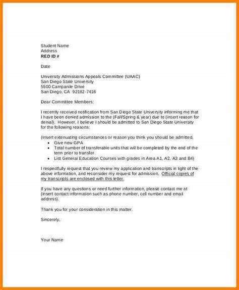 9 academic appeal letter authorization memorandum