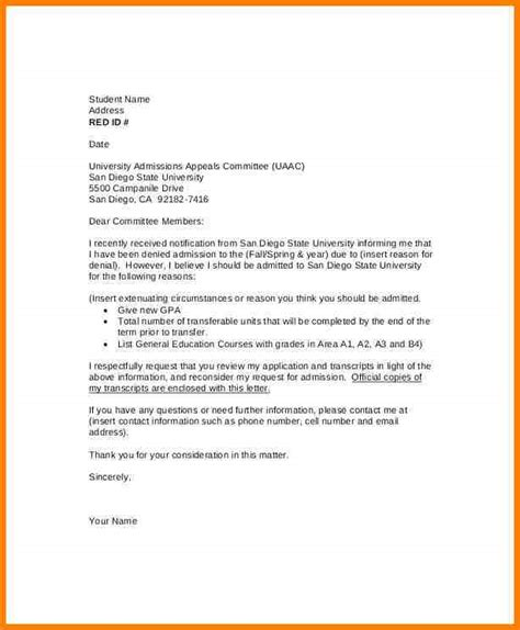 Financial Aid Appeal Letter Pregnancy 9 academic appeal letter authorization memorandum
