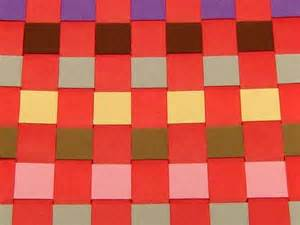 How To Make A Paper Weave - paper weaving diy family