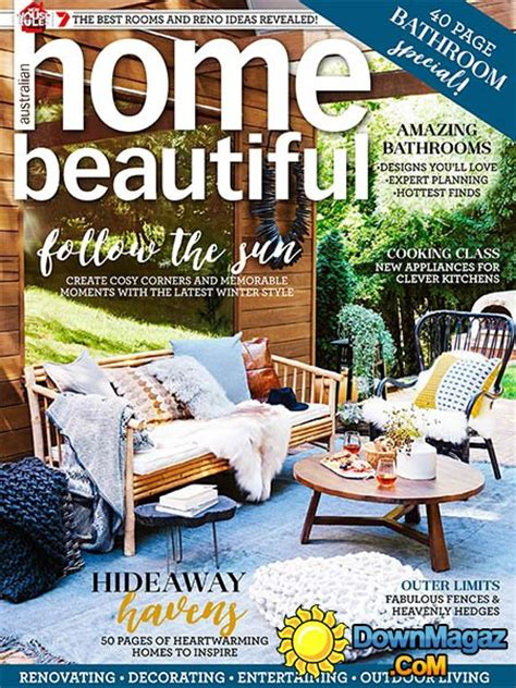 home decorating magazines australia australian home beautiful july 2016 187 download pdf