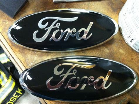 blacked out ford emblem ford f150 forum community of