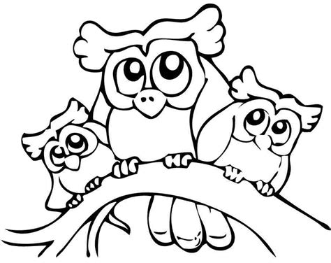 Coloring Page Owl Kids Coloring Printable Coloring Pages For Teens L