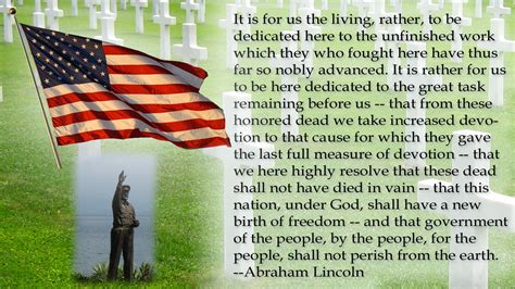 when is lincoln day memorial day abraham lincoln quote memorial day