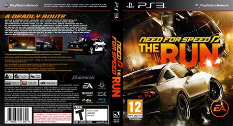 Dvd Original Playstation 3 Bluray Need For Speed capa need for speed the run ps3 gamecover capas customizadas para dvd e bluray