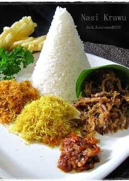 resep nasi krawu enak  sederhana cookpad