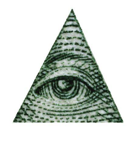 illuminati eye pyramid quot dollar bill illuminati pyramid eye graphic quot posters by
