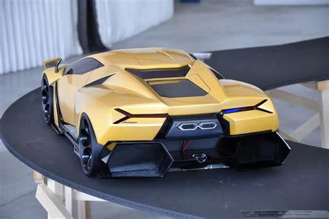 lamborghini cnossus supercar concept version lamborghini cnossus supercar concept version