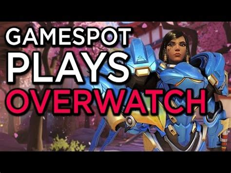 overwatch gamespot overwatch gamespot plays codejunkies