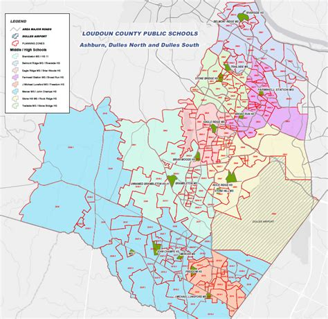 Loudoun County Search Loudoun County School Boundary Changes Map All Loudoun County Homes