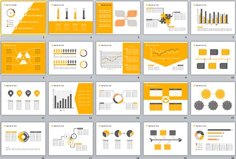 powerpoint templates free download yellow powerpoint templates