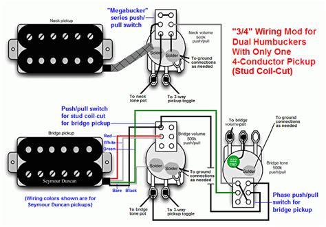 les paul push pull pot wiring diagram les paul guitar
