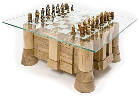castle jigsaw tables chess coffee table awesome