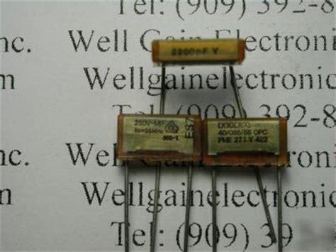 rifa capacitor pme271y rifa capacitor pme271y 28 images 56 pme for sale rifa pme 271m ebay 5x y2 kondensator 0