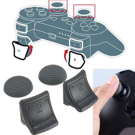 Cape 4in1 dual triggers silicone thumb grip cap cover 4in1 set for
