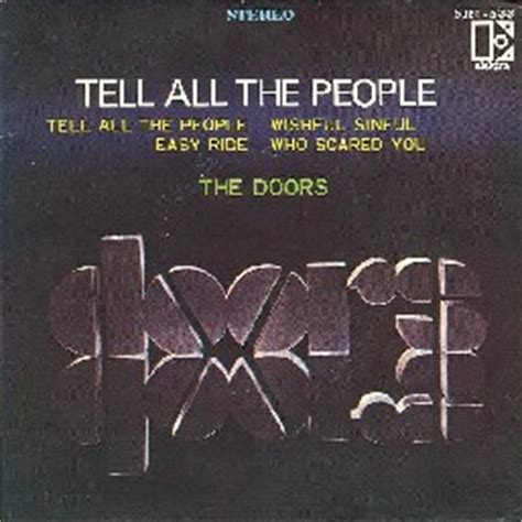 The Doors Tell All The by The Doors Discography