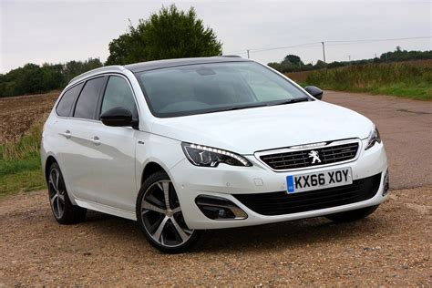 peugeot estate cars the best estate cars in 2018 parkers