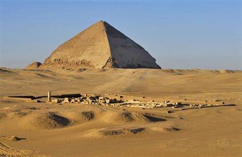 structure discovered near snefru s bent pyramid in