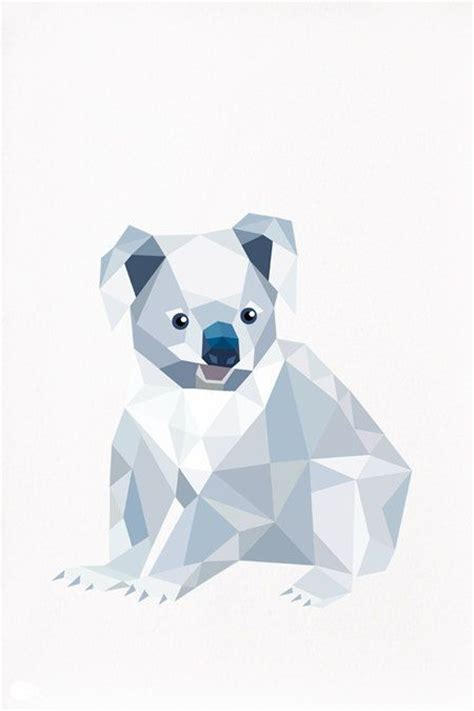 geometric koala tattoo 327 best geometric art images on pinterest illustrations